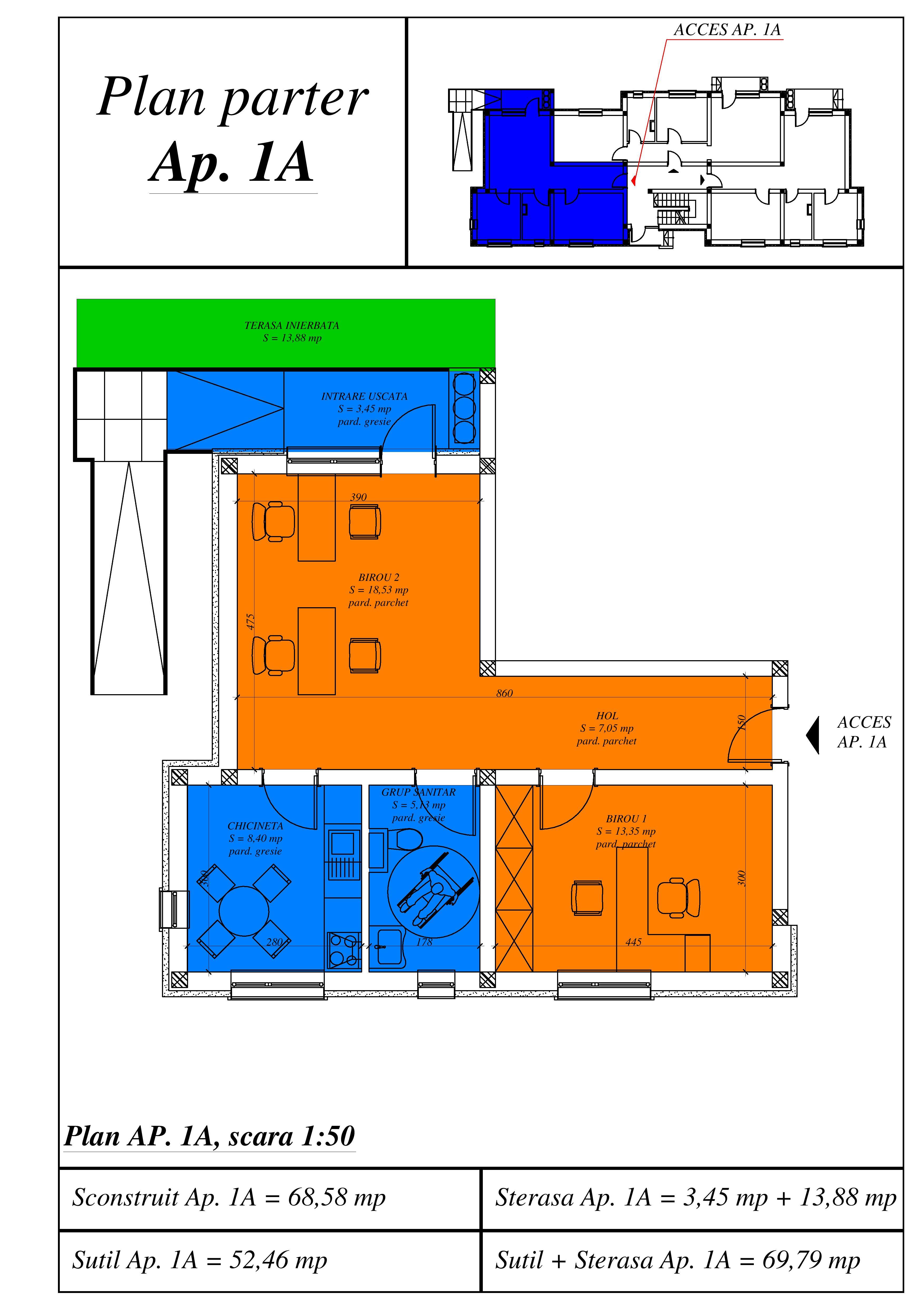 Plan locuinta