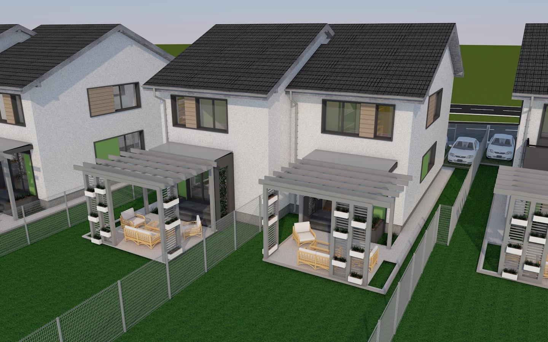 Poze Proiect Proiect imobiliar ARIS Residence (4 duplexuri)